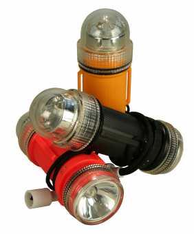 Notblitz mit LED Taschenlampe
